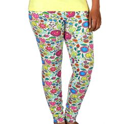 Flower Power-Women Legging