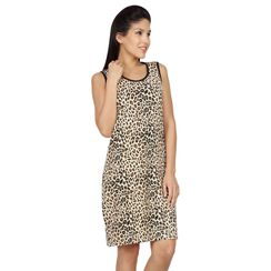 Leapord-Women Long tank(Sleeveless)