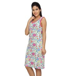 Flower Power -Women Long tank(Sleeveless)