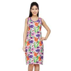 Floret-Women Long tank(Sleeveless)