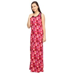Hearts -Women Night gown(Sleeveless)