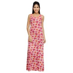 Petals -Women Night gown(Sleeveless)
