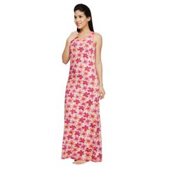 Petals -Women Night gown(Sleeveless)