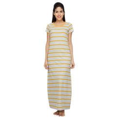 Stripes-Women Night gown
