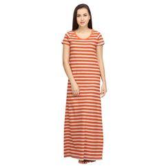 Stripes -Women Night gown