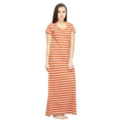 Stripes -Women Night gown
