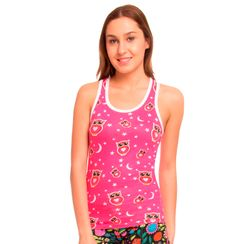 Wide Awake -Women Sporty Tank