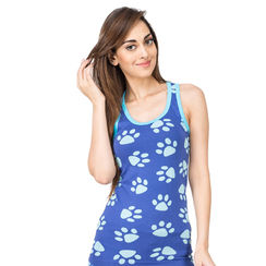 Paws -Women Sporty Tank