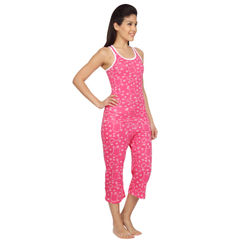 Wide Awake-Women Sporty Tank Capri Set