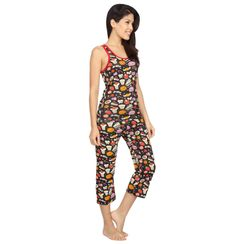 Sweet Tooth -Women Sporty Tank Capri Set