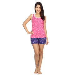 Wide Awake - Women Sporty Tank & Shorts Set