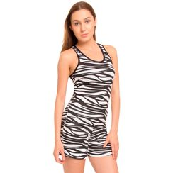 I Am Wild -Women Sporty Tank Shorts Set
