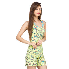 Martini-Women Sporty Tank Shorts Set