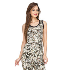 Leopard-Women Tank Top