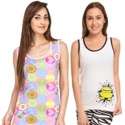 Love Peace & I Am Freak -Women Tank Top Combo