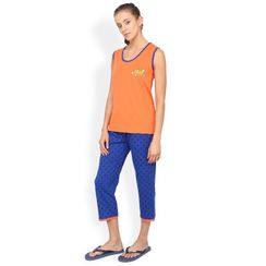 Nuteez Cute C  tank top & capri set for women