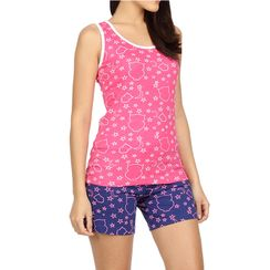 Wide Awake -Women Tank Top Shorts Set