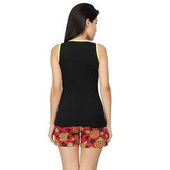 I Am Freak -Women Tank Top Shorts Set