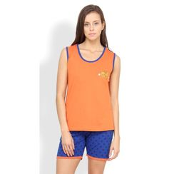 Nuteez Cute C  tank top & shorts set for women