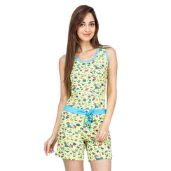 Martini -Women Tank Top Shorts Set