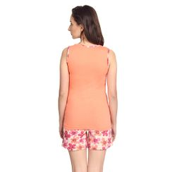 Petals -Women Tank Top Shorts Set