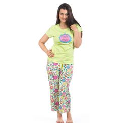 Flower Power -Women Tee and Capri Set