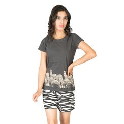 I Am Wild -Women Tee and Shorts Set