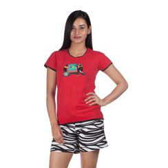 Together Always & I Am Wild -Women Tee and Shorts Set