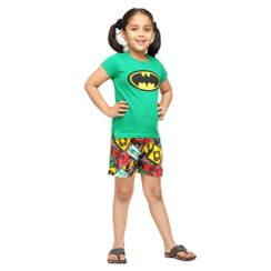 Knight Fall-Kids Shorts Set