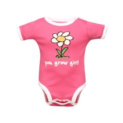 You Grow Girl -Lazyone Kids Onesies
