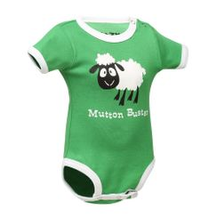 Mutton Buster -Lazyone Kids Onesies