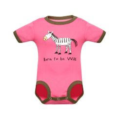 Born To Be Wild -Lazyone Kids Onesies