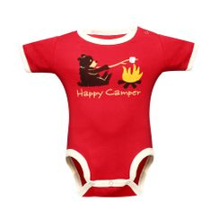 Happy Camper  -Lazyone Kids Onesies