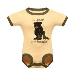 Bear In The Morning -Lazyone Kids Onesies
