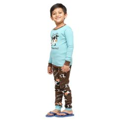Moody In The Morning -Lazyone Kids PJ Set