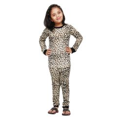Leopard-Kids PJ Set