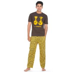 Stay Surprised & Stronger At Night-Men PJ Set