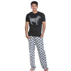 Good Dog & Skull-Men PJ Set