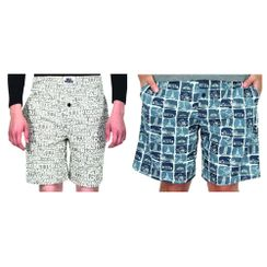 Stronger at night & wonders-Men Shorts Combo