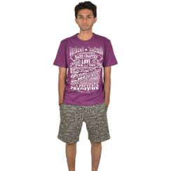 Vintage Love & Stronger At Night-Men Shorts Set