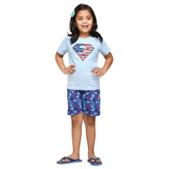 Super Mystic-Kids Shorts Set