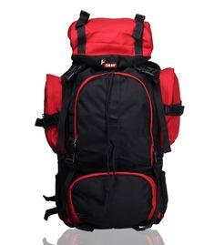 Neutron Black Red  Trekking Backpack