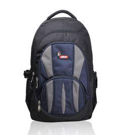Adios Black Blue Standard Backpack