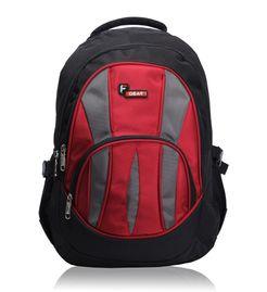 Adios Black Red Standard Backpack