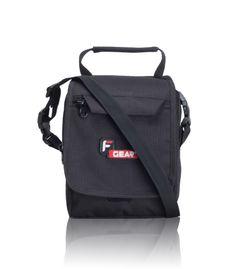 Compact Black Small Sling Bag