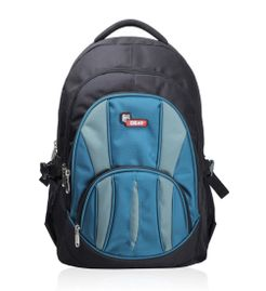 Adios Black Aqua Blue Standard Backpack