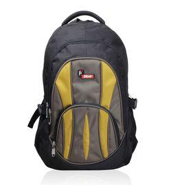 Adios Black Mustard  Standard Backpack