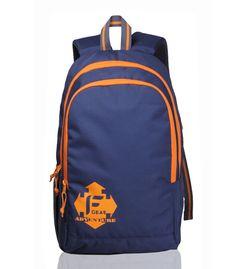 F Gear Castle Navy Blue Orange - Rugged Base
