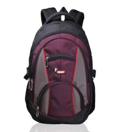 Midus Black Wine Backpack