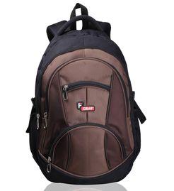 Midus Black Beige Backpack